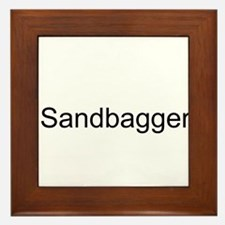 Sandbagger Framed Tile
