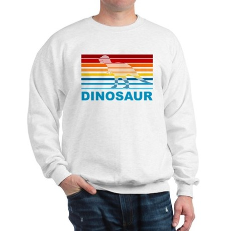 Colorful Dinosaur Sweatshirt