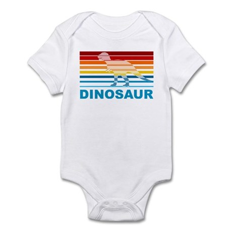 Colorful Dinosaur Infant Bodysuit