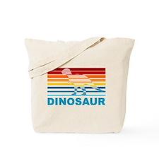 Colorful Dinosaur Tote Bag