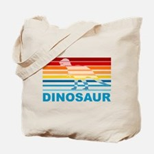 Colorful Dinosaur Tote Bag