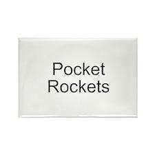 Pocket Rockets Rectangle Magnet (10 pack)