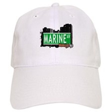 MARINE AV, BROOKLYN, NYC Baseball Cap