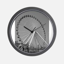 Navy Pier Ferris Wheel Wall Clock