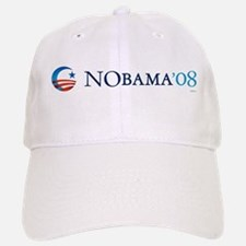 NObama08 Baseball Baseball Cap
