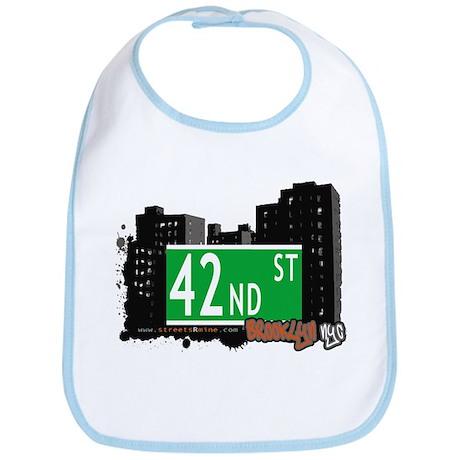 42nd STREET, BROOKLYN, NYC Bib