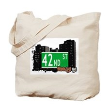 42nd STREET, BROOKLYN, NYC Tote Bag