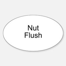 Nut Flush Oval Decal