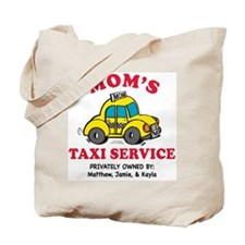 Mom's Cab personalized bag