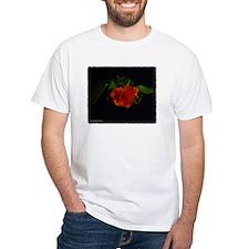 Unique White rose Shirt