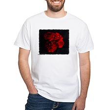 Funny White rose Shirt