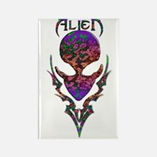 Alienwear Tribal 17 Rectangle Magnet