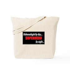 Superhero Pulmonologist Tote Bag