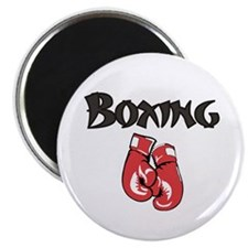Boxing w-Gloves Magnet