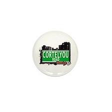 CORTELYOU ROAD, BROOKLYN, NYC Mini Button (10 pack