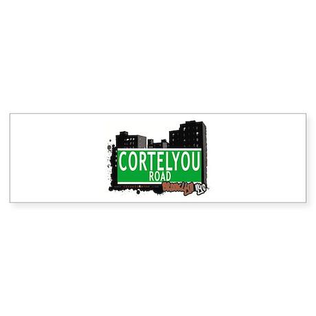 CORTELYOU ROAD, BROOKLYN, NYC Bumper Sticker