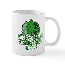 Tree Hugging Hippie Small Mug