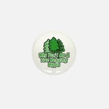 Tree Hugging Hippie Mini Button (100 pack)