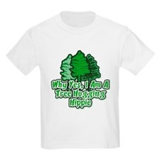Tree Hugging Hippie T-Shirt
