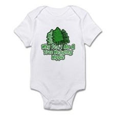 Tree Hugging Hippie Infant Bodysuit