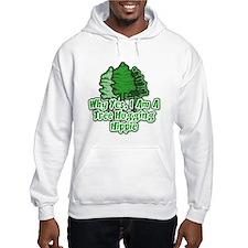Tree Hugging Hippie Hoodie