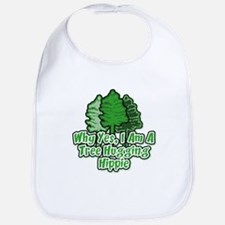 Tree Hugging Hippie Bib
