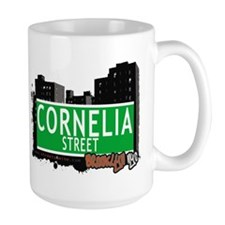 CORNELIA STREET, BROOKLYN, NYC Mug