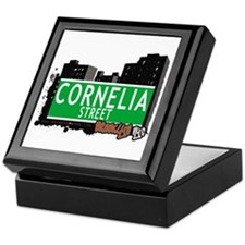 CORNELIA STREET, BROOKLYN, NYC Keepsake Box