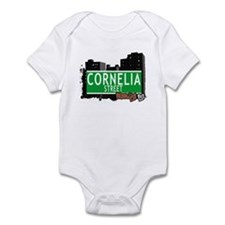 CORNELIA STREET, BROOKLYN, NYC Infant Bodysuit