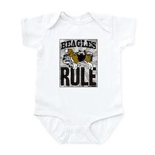 Beagles Rule Infant Bodysuit