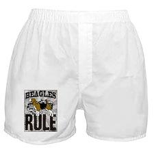 Beagles Rule Boxer Shorts
