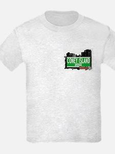 CONEY ISLAND AVENUE, BROOKLYN, NYC T-Shirt