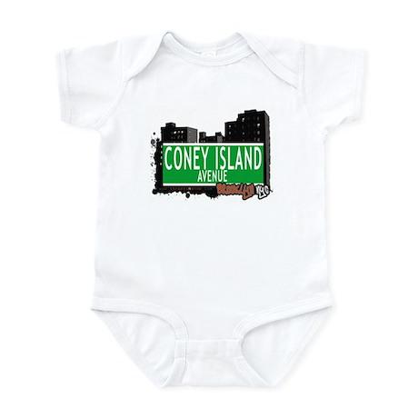 CONEY ISLAND AVENUE, BROOKLYN, NYC Infant Bodysuit