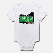 CONEY ISLAND AVENUE, BROOKLYN, NYC Infant Bodysuit