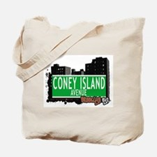 CONEY ISLAND AVENUE, BROOKLYN, NYC Tote Bag