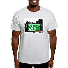 24th AVENUE, BROOKLYN, NYC T-Shirt
