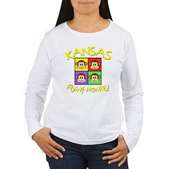 Kansas - Flying Mokeys (Square) T-Shirt