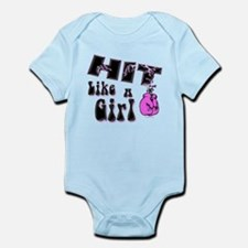 Hit Like A Girl Infant Bodysuit
