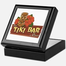 Tiki Bar is Open II - Keepsake Box