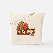 Tiki Bar is Open II - Tote or Beach Bag
