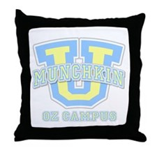 Munchkin U Throw Pillow