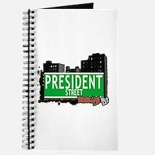 PRESIDENT STREET, BROOKLYN, NYC Journal