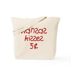 Kansas Kisses! Tote Bag