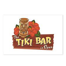 Tiki Bar is Open II - Postcards (Package of 8)