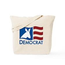Democratic Flag Tote Bag