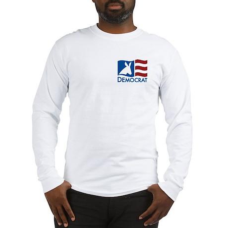 Democratic Flag Long Sleeve T-Shirt