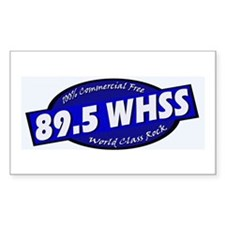 89.5 WHSS Rectangle Decal