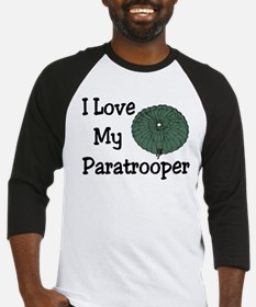 Paratrooper Love Baseball Jersey