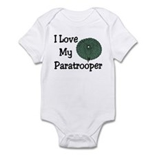 Paratrooper Love Infant Creeper