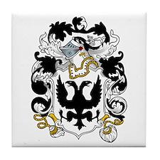 Glyn Family Crest Tile Coaster